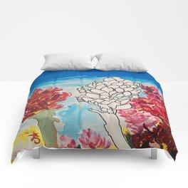 Alpinia purpurata – Red Ginger Flower Comforters
