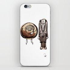 Old couple iPhone & iPod Skin