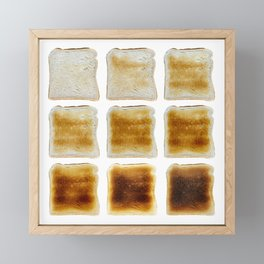 How Do You Like Your Toast Done Framed Mini Art Print