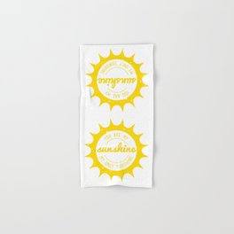 You Are My Sunshine Hand & Bath Towel