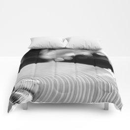 Crash Into It Comforters