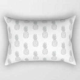 Light Grey Pineapple Rectangular Pillow