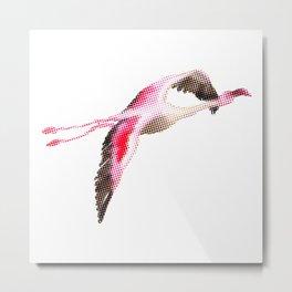 Flamingo #4 Metal Print