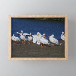 Strangers on a Sandbar Framed Mini Art Print