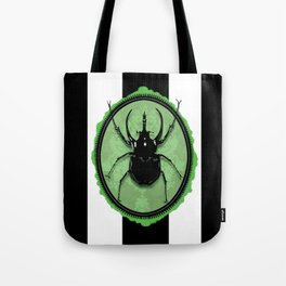 Juicy Beetle GREEN Tote Bag