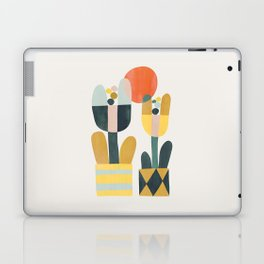 Two flowers Laptop & iPad Skin