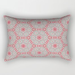 V28 Moroccan Pattern Design. Rectangular Pillow
