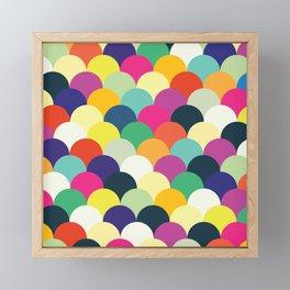 Colorful Circles Framed Mini Art Print