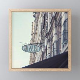 Patisserie Framed Mini Art Print