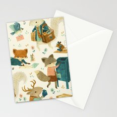 Critter Post Stationery Cards