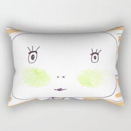 Mr. Fishman Rectangular Pillow