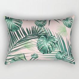 Tropical Jungle Leaves Garden #2 #tropical #decor #art #society6 Rectangular Pillow