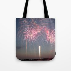 Night of Fire I Tote Bag