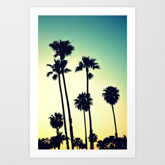 Pacific Coast Hwy Cruisin Art Print