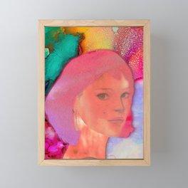 HELLO STRANGER Framed Mini Art Print