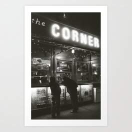 La Esquina, New York City Art Print