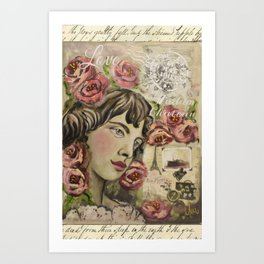 Mea art designs  Art Print