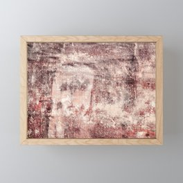 Shipboard texture Framed Mini Art Print