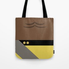 Worf - Minimalist Star Trek TNG The Next Generation - Enterprise 1701 D - startrek - Trektangles Tote Bag