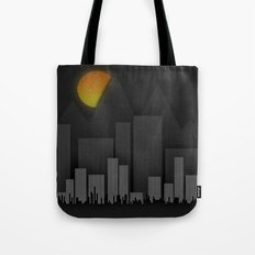 Heat Behind The Mountains Tote Bag