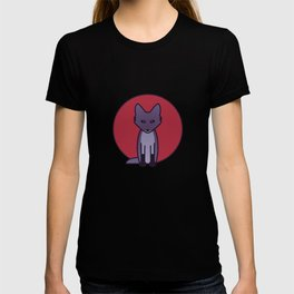 Purple Fox - Kitsune Visits Japan T-shirt