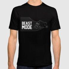 Beast Mode Mens Fitted Tee Black MEDIUM