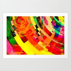Playa del Carmen Sun No.1 Art Print