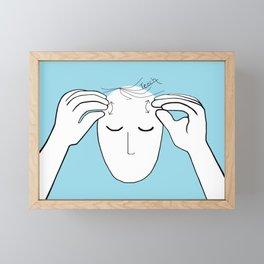 ASL Teach Framed Mini Art Print