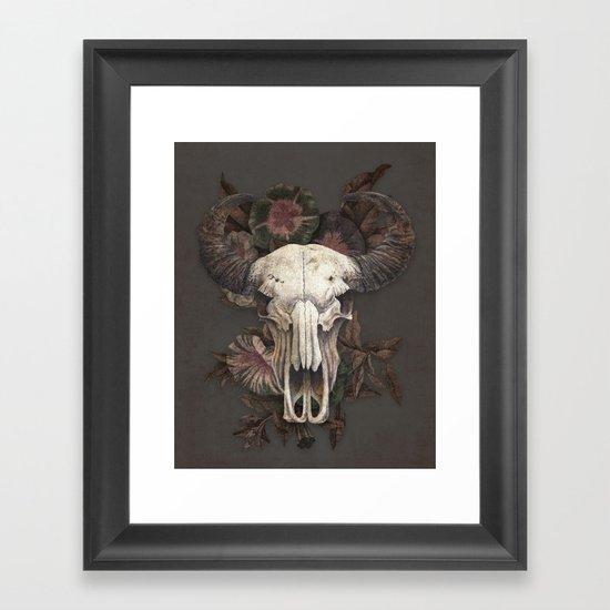 Nightshade Framed Art Print