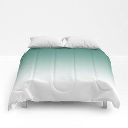 Ombre Viridian Comforters