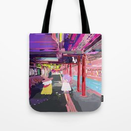 Inari Station Tote Bag