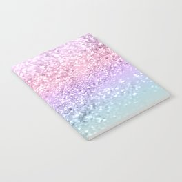 Unicorn Girls Glitter #1 #shiny #pastel #decor #art #society6 Notebook