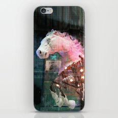 Pink Horse iPhone & iPod Skin