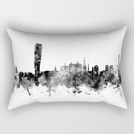 Malmo Sweden Skyline Rectangular Pillow
