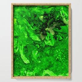 Green Envy Serving Tray