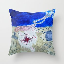 Dreaming of Seeing Throw Pillow