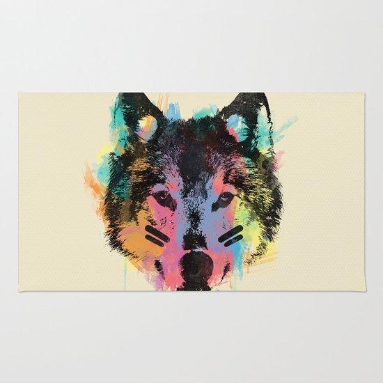 Wolf Child Rug