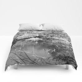 Pine Woods Of East Texas Exhibit Comforters