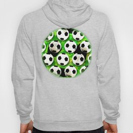 Soccer Ball Football Pattern Hoody