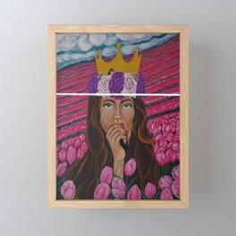 Lose The Crown Framed Mini Art Print