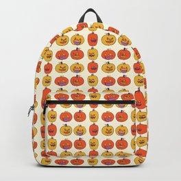 Carved Halloween Pumpkin Pattern Backpack