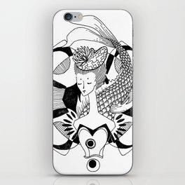Fishy Lady iPhone Skin
