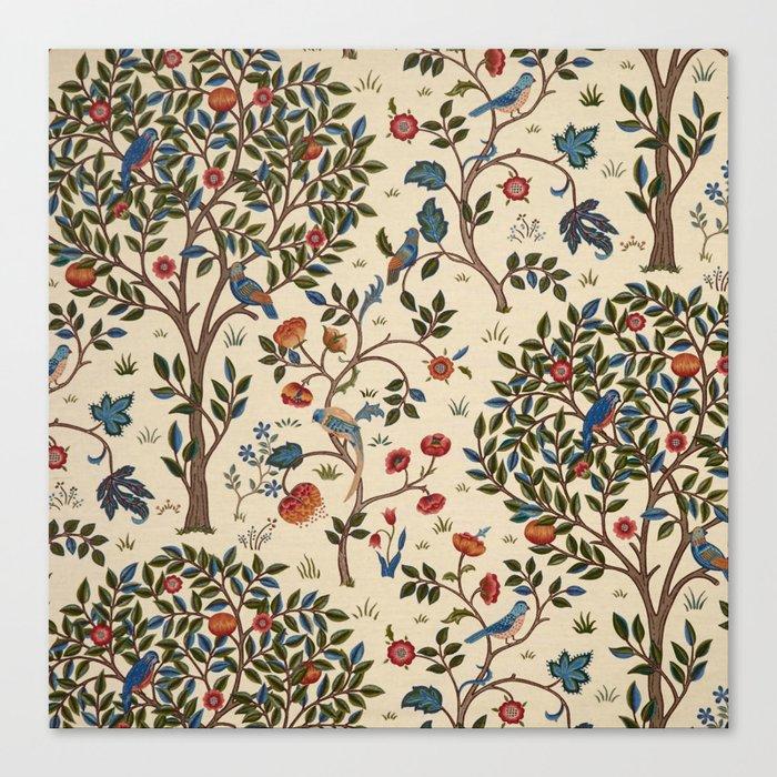 "William Morris ""Kelmscott Tree"" 1. Leinwanddruck"