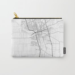 Minimal City Maps - Map Of Stockton, California, United States Carry-All Pouch