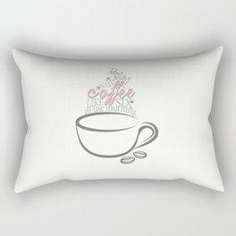 Six in the morning Rectangular Pillow