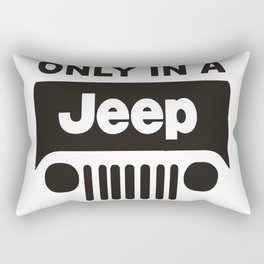 ONLY IN A OFF ROAD Rectangular Pillow