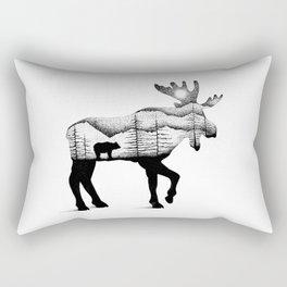 THE MOOSE AND THE BEAR Rectangular Pillow