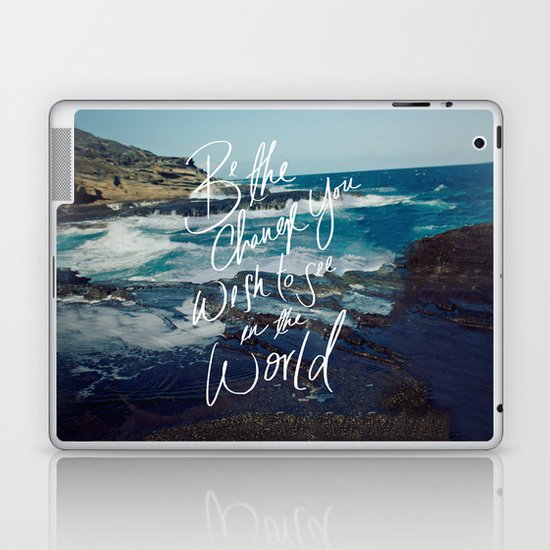 Be the Change Laptop & iPad Skin