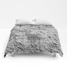 Textured White Comforters