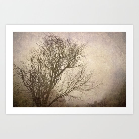 """Branches in the wind"" Art Print"